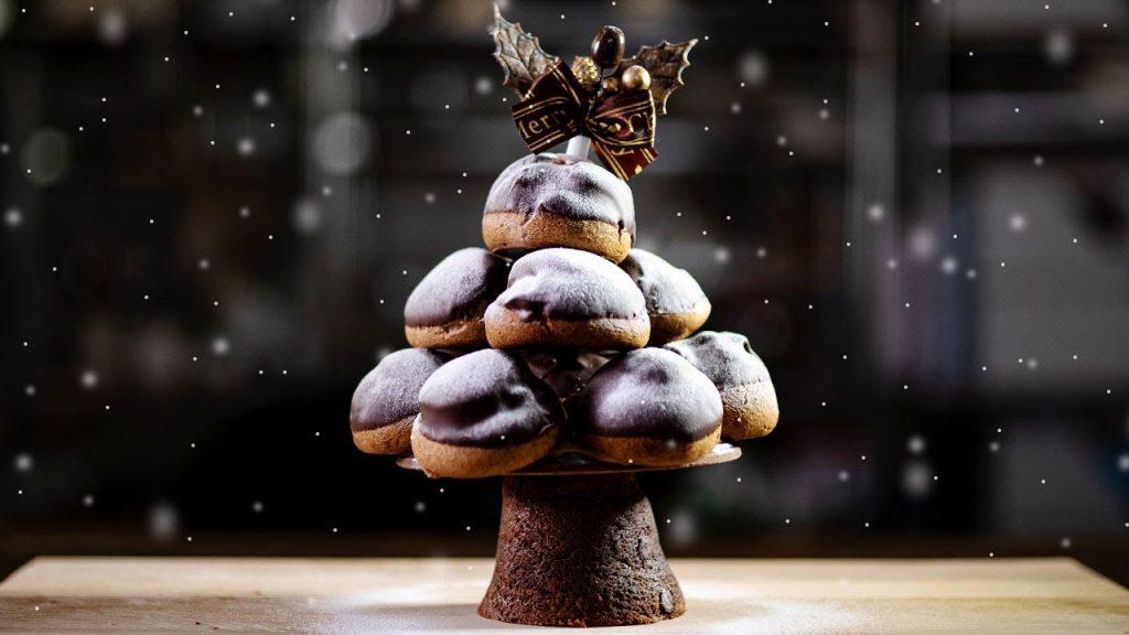 クロカンブッシュのクリスマスツリー